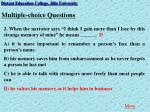 multiple choice questions3