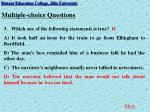 multiple choice questions5