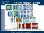 charge sharing planar