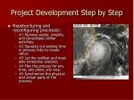 project development step by step