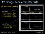 1 st firing accelerometer data1