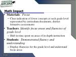 math impact