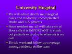 university hospital1