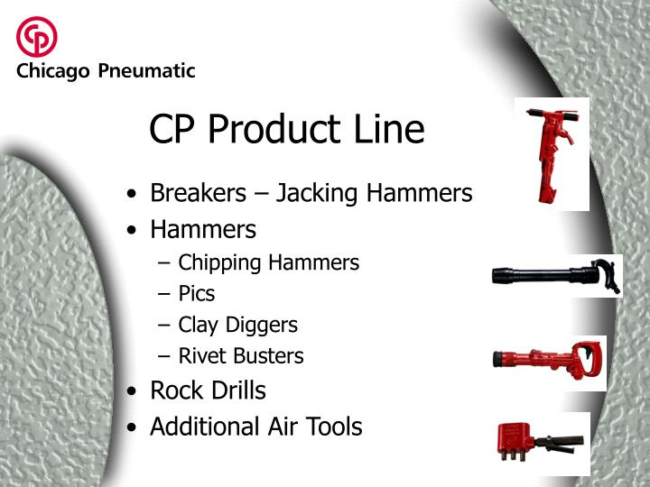 Cp product line