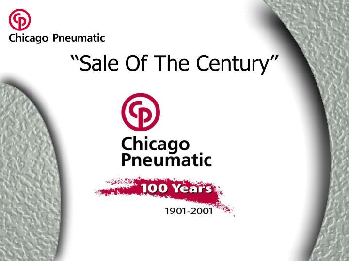 """Sale Of The Century"""
