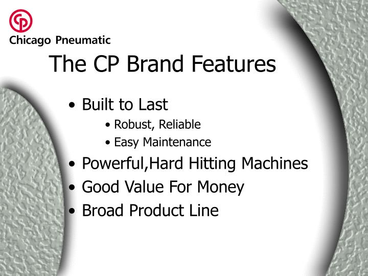 The cp brand features