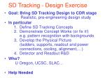 sd tracking design exercise