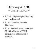 directory x509 cos e ldap