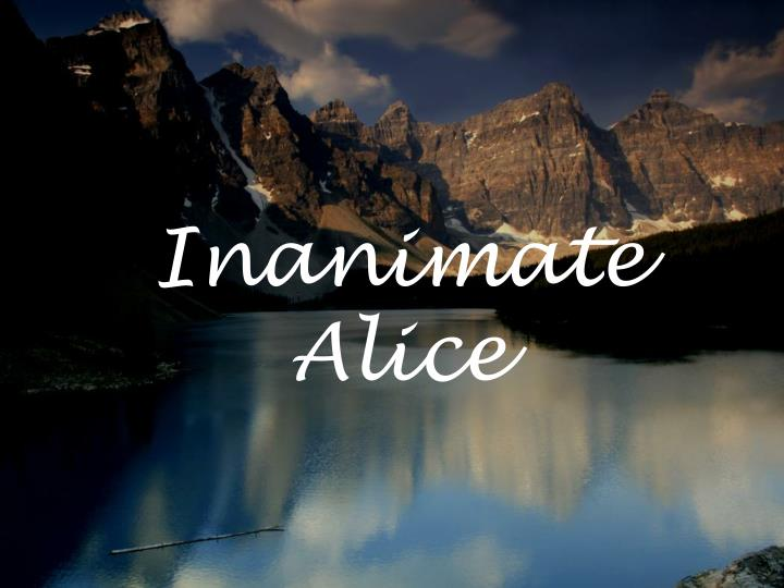inanimate alice n.