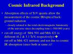 cosmic infrared background