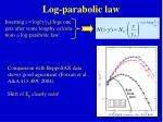 log parabolic law