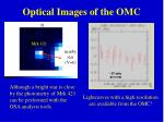 optical images of the omc