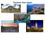 pictures from spain