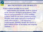 recognition and mobility1