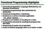 functional programming highlights