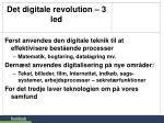 det digitale revolution 3 led