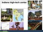 indiens high tech center