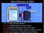 near detectors at 300m