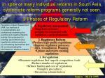 3 phases of regulatory reform