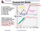 threshold dac monitor