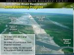 kissimmee river restoration canal backfilling progress
