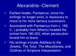 alexandria clement