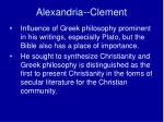 alexandria clement2