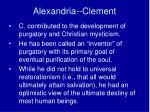 alexandria clement3