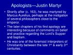 apologists justin martyr3