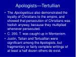 apologists tertullian1