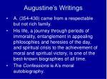 augustine s writings