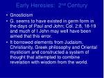 early heresies 2 nd century3
