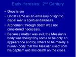 early heresies 2 nd century6