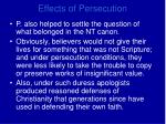 effects of persecution1