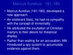 marcus aurelius 161 180
