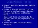 marcus aurelius 161 1801