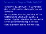 persecution empire wide 249 3054