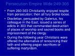 persecution empire wide 249 3055