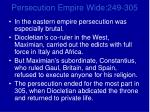 persecution empire wide 249 3056