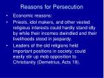 reasons for persecution4