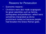 reasons for persecution5
