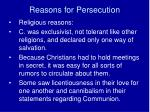 reasons for persecution6