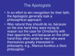 the apologists7