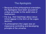 the apologists8