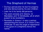 the shepherd of hermas1