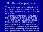 the three cappadocians
