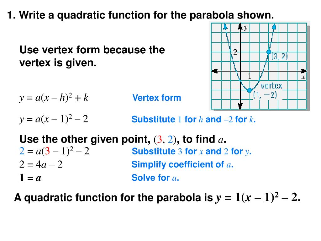 ppt  modeling with quadratic functions powerpoint