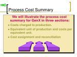 process cost summary1
