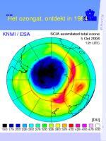 het ozongat ontdekt in 1984