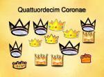 quattuordecim coronae